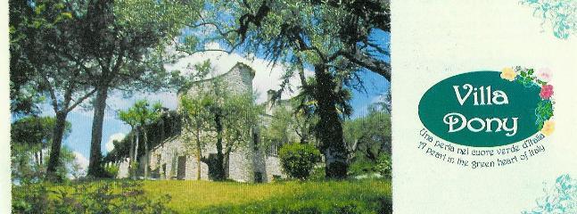 appartamento sulla torre di villa dony