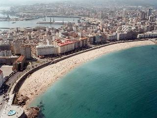 piso a 150 m de la playa, A Coruña