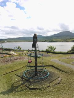 Playpark in Dunvegan ( 1 minute walk)