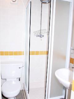 Bathroom next to Twin bedroom