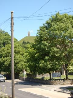 View of Tor from the Master bedroom, Rural Life Museum across the road.