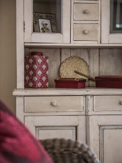 Details make this comfortable, relaxing and home from home.