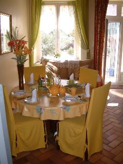 Part of the Breakfast/Dining area
