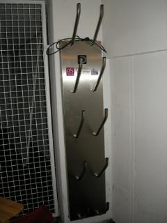 Ski boot heater in basement locker
