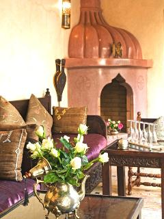 traditional 'bhou' open sitting rooom