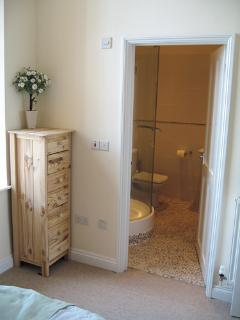 Extra large shower (Double en suite)