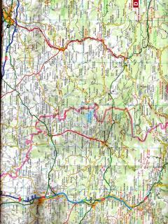 location map for Belesta