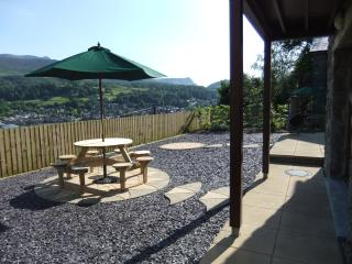 'Y BRYN' 3 bedroom detached house in the heart of Wales with amazing scenic view