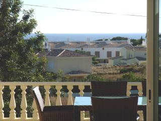 View from the terrace, and dining room