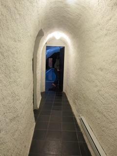 Corridor to the swimming pool