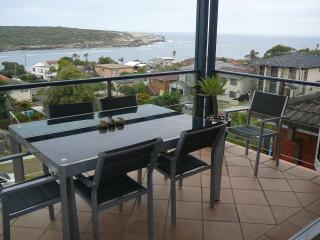 View of Malabar Bay from front balcony