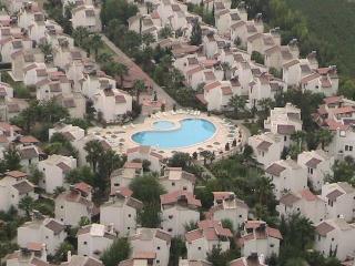 Birds eye view of Akdeniz Evleri