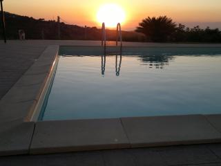un tramonto a villa Roberta