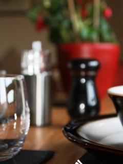 Denby tableware and Schott Chrystal