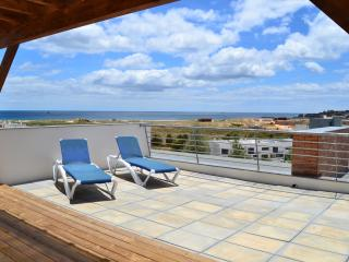 Roof terrace with amazing sea views - 4 sunloungers on this terrace + 2 on lower balcony