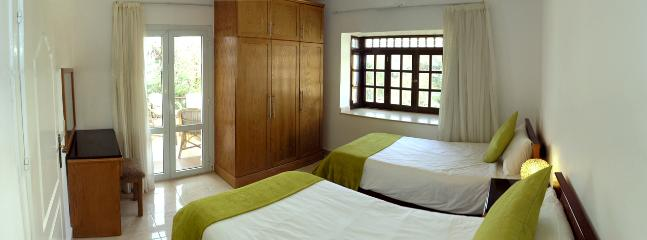 The apartment is furnished to a high standard, with mostly made to measure furniture