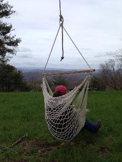 Hanging around on the ridge