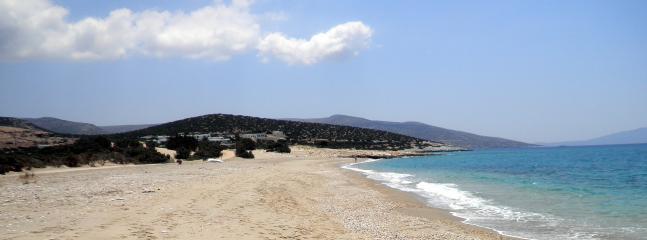 Pyrgaki beach,white sand and crystal water