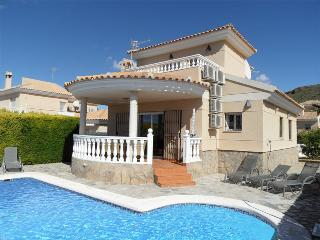 Casa Magica. Luxury detached villa with sea views, Private pool, Airco, WIFI etc