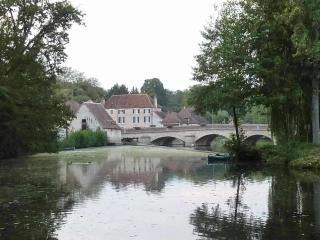 Our beautiful, tranquil riverine village of La Trimouille on the Benaize - an ideal base for touring