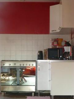 Détail de la cuisine équipée