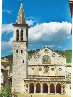 Spoleto is famous for its lively arts life and beautiful architecture