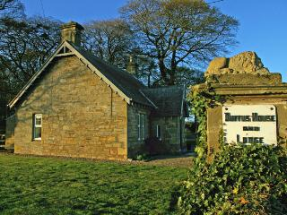 The Lodge at the gates of Duffus House