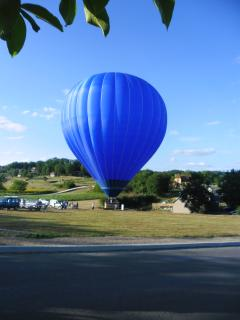 a balloon ride is a popular way to see the Dordogne  - and a wonderful treat for a special occasion