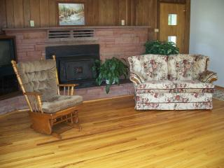 Relax in comfort, in the spacious living room