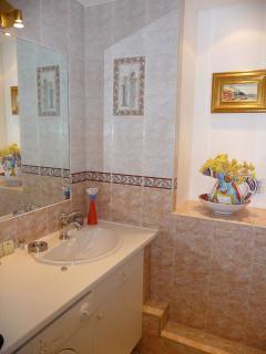 Bathroom of Victor Hugo - shower stall