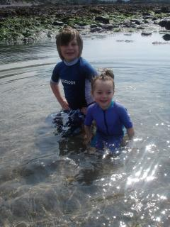 Nearby Wembury Beach - Great Rock Pooling for kids and body surfing