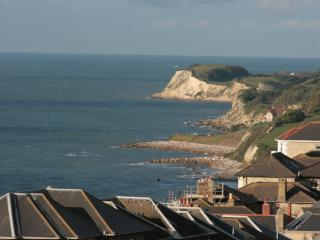 sea views close to town, safe garden pets welcome, Ventnor
