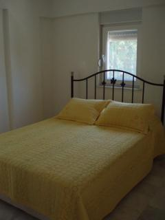 Second double bedroom which has a double wardrobe for all your holiday clothes