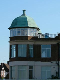 turreted bedrooms leading onto fabulous roof terrace