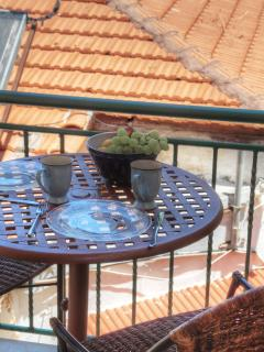 BLUE Apartment - Balcony
