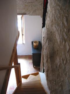 staircase to bedroom 3