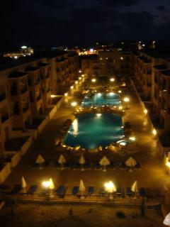 Royal Seacrest Complex by Night