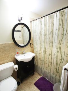 BATHROOM WITH TUB & SHOWER