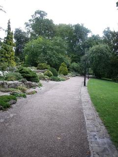 Museum Gardens, York.  A great place for a picnic.