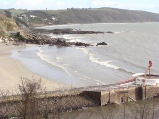 Looe flat - stunning sea views