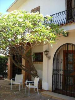 ingresso principale villa
