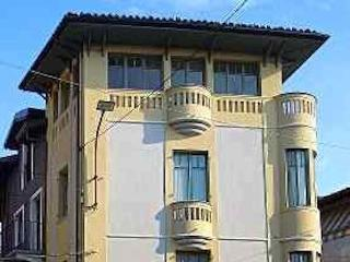 Casa Art Deco in riva al Po