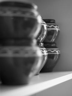 The kitchen is fully equipped with high quality cooking utensils, plates, cups, glasses etc
