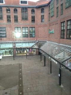 View of the copergate centre from the living room