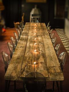 dining table for 18