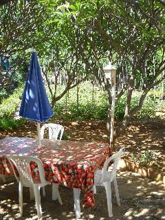 tavolo esterno (lato giardino)