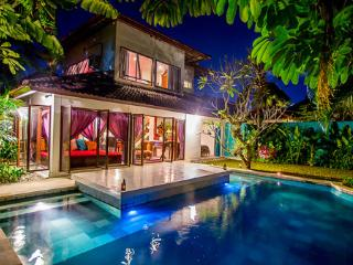 Eshina Villa View at night