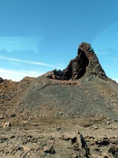 Timanfaya's volcanic landscape