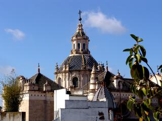 View of the Salvador church
