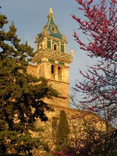 campanario de la Cartuja de Valldemossa